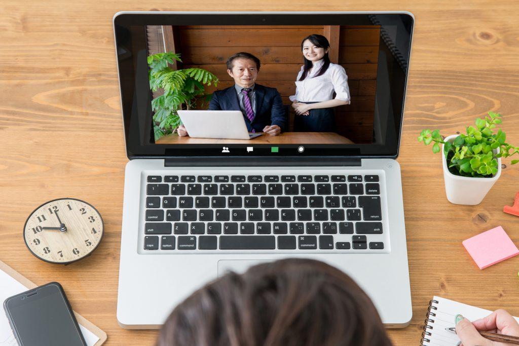 整備士の外国人技能実習生のWeb面接を実施